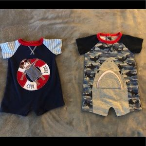 Mud pie infant one piece outfits